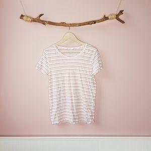 J.Crew vintage cotton short sleeve striped t-shirt